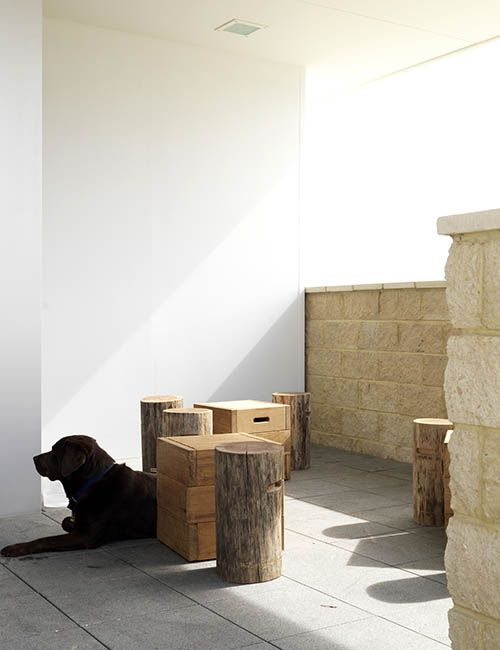 BIB' N TUCKER | alwill  #outdoor #sandstone #restaurant #cafe