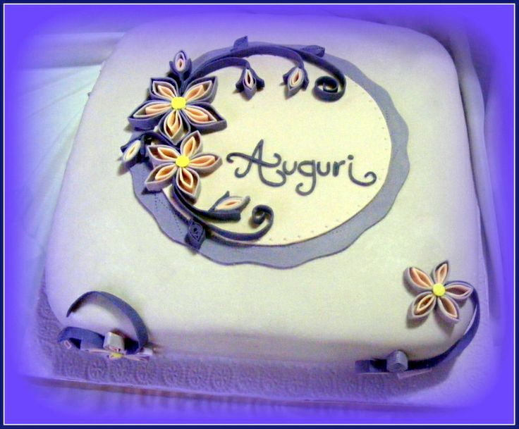 My quilling cake