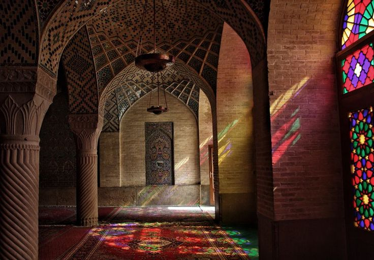 Nassir-ol-Molk Mosque, Shiraz-Iran