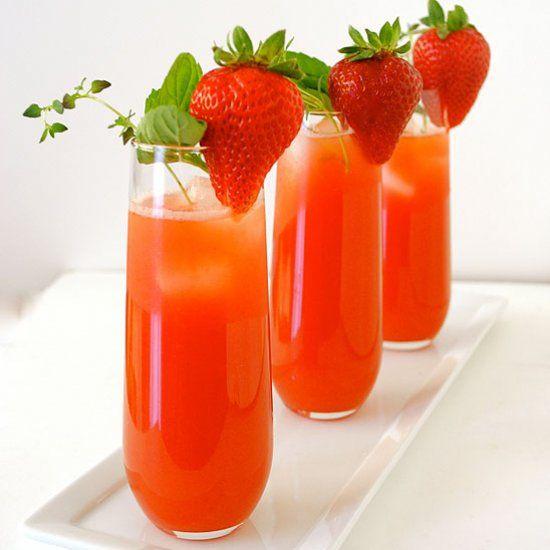 Strawberry Aqua Fresca, a fruity and refreshing summer drink.