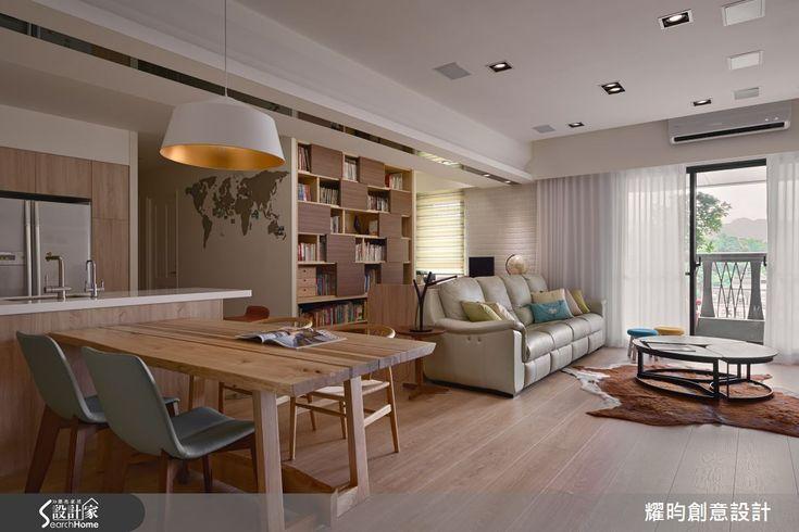 主要建材:梧桐木、超耐磨木地板、進口漆、磁鐵漆、黑板漆、灰鏡、系統櫃