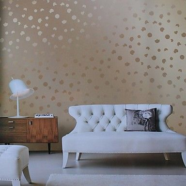 Wall Paper Wallcovering, European Style Romantic Bubble PVC Wall Paper – AUD $ 51.47