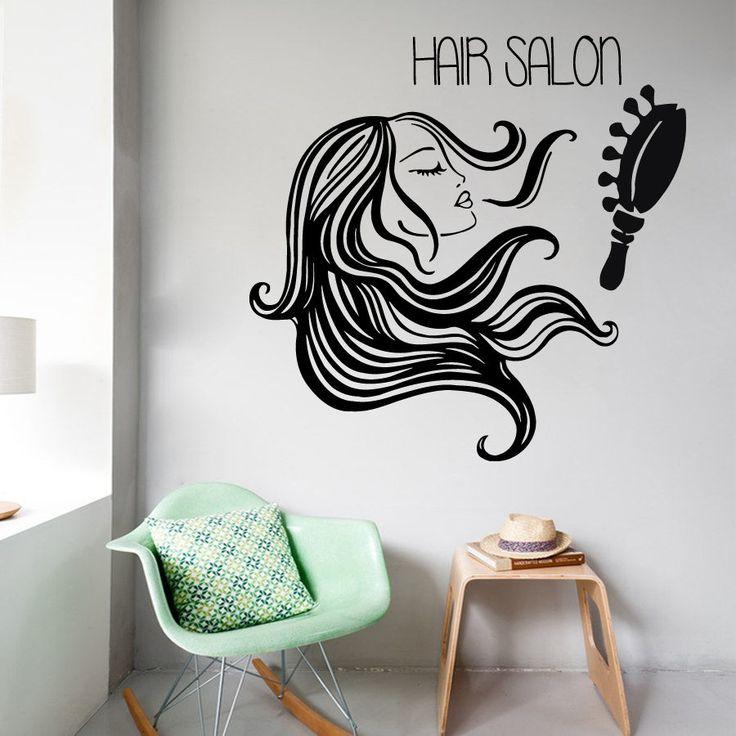 Wall Vinyl Art 148 best beauty salon girls images on pinterest | beauty salons