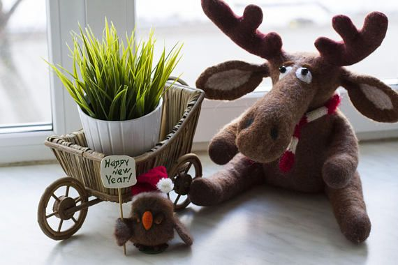 "I added ""New Year's Deer/deer Rudolph/Elk/felting toy,Page "" to an #inlinkz linkup!https://www.etsy.com/listing/560362287/new-years-deerdeer-rudolphelkfelting-toy?ref=shop_home_active_2"