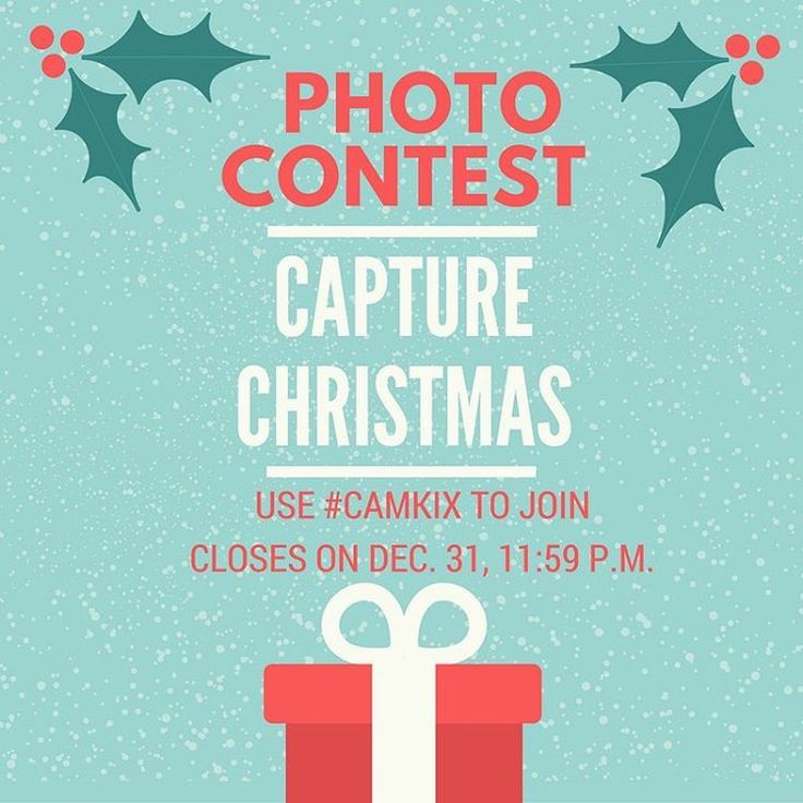 Join our December photo contest! Take a photo of anything that spreads the Holiday cheer, upload it on Instagram and use #CamKix to qualify. The winner will get a free Camkix product! . . . . #christmas #holiday #december #contest #giveaway #holidayseason #win #awesome #photocontest