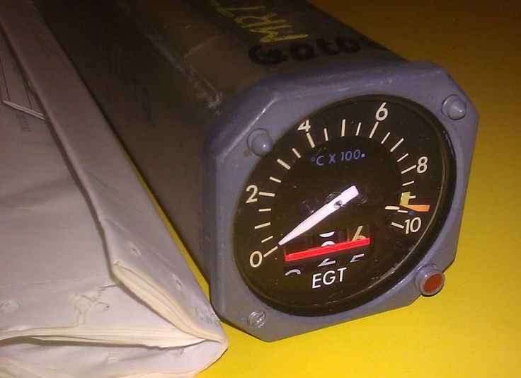 GENUINE GE EXHAUST GAS TEMPERATURE TEMP INDICATOR 8DJ175LWT2 / 4864K72P001 #GE