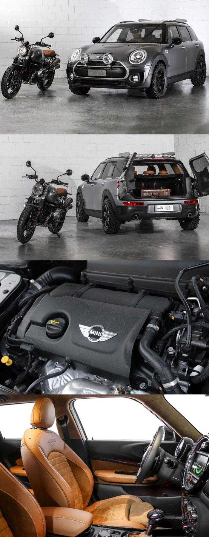MINI Clubman ALL4 Scrambler to Resemble a BMW R nineT Scrambler Get more details at: https://pamelaukcarengines.wordpress.com/2016/06/15/mini-clubman-all4-scrambler-to-resemble-a-bmw-r-ninet-scrambler/