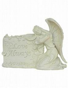 Angel Plaque Grave Ornament - Love Always