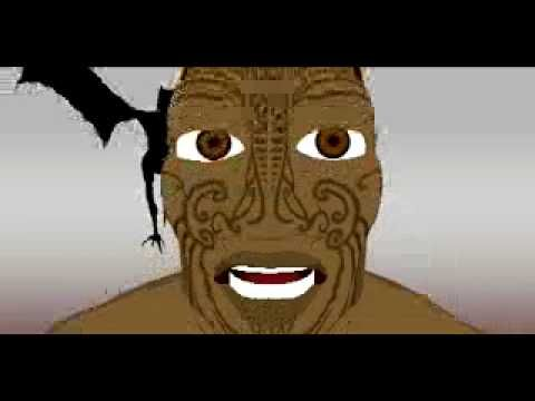 The animated story of Hatupatu and Kurangaituku.