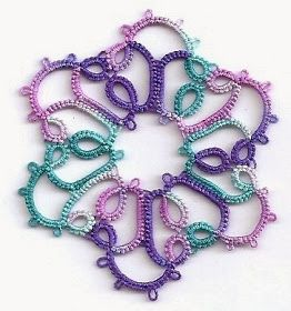 Tatting Fool: Pretty Colors