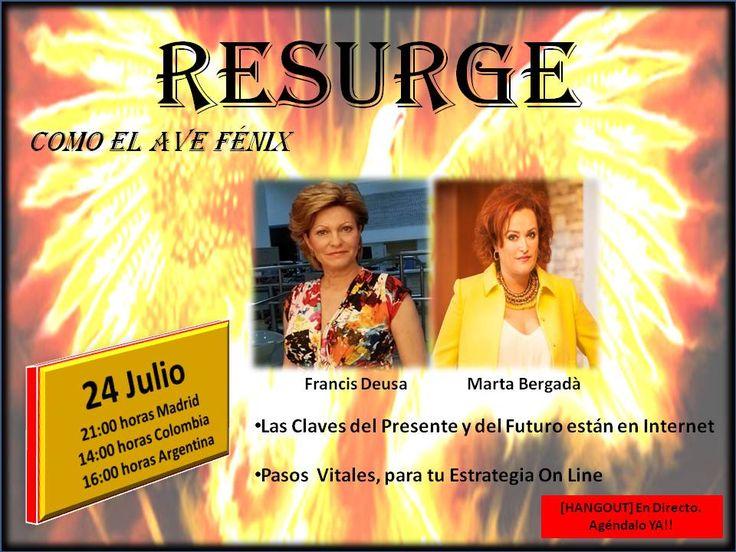 Hangout, estrategias On LIne, con Francis Deusa, y Marta Bergadà