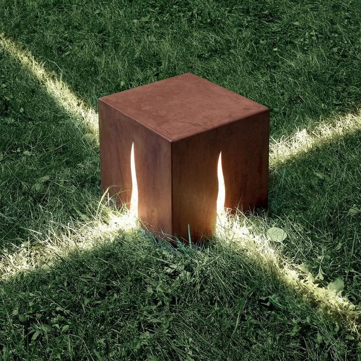 Lampada di pavimentazione / moderna / per giardino / non specificato - CUNEO - ROUILLE by Klaus Begasse - Artemide