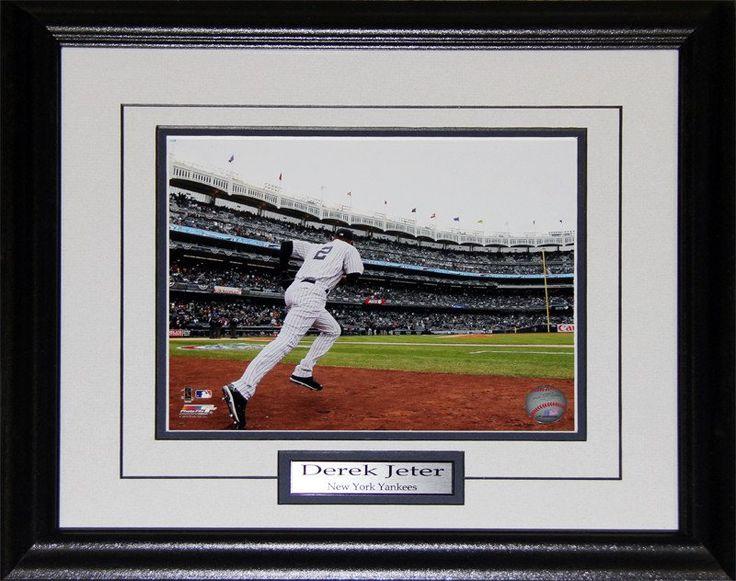 Derek Jeter New York Yankees 8x10 photo framed $75.00 plus tax
