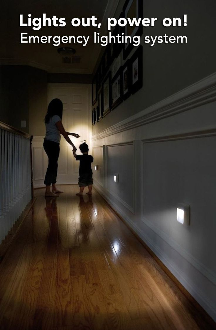 Light your home during a power cut. Ready Bright lights will automatically turn on when a power cut is detected.