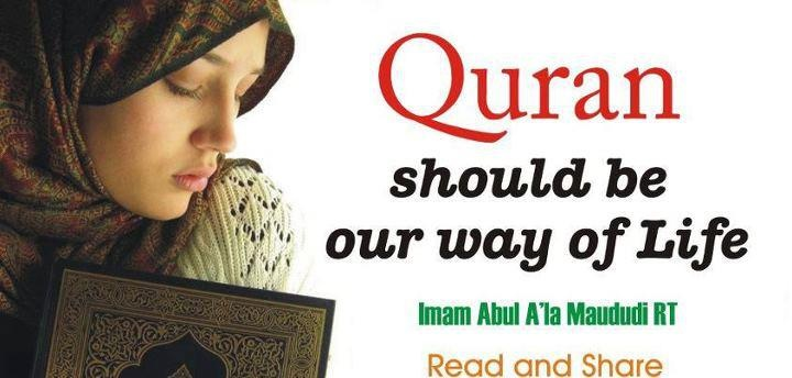 Read Alquran every day.