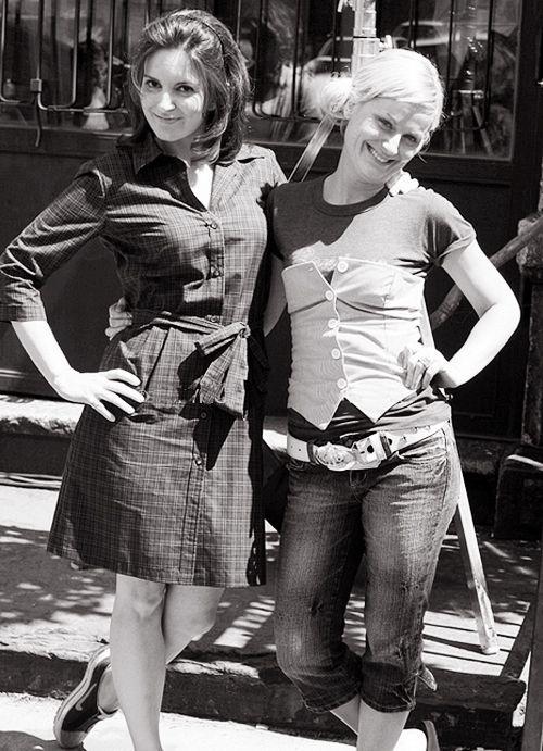 """""""Tina Fey is my other husband."""" - Amy Poehler"""