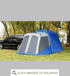 Sportz 84000 SUV Tent w/Screen Room- Jeeps w/hardtops, Jeep SUVs