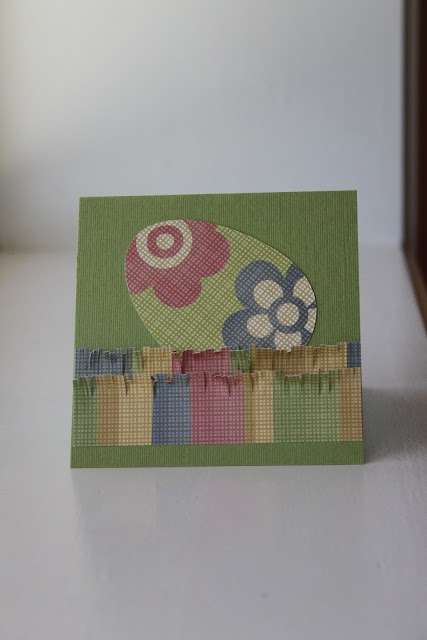 An Easter Card...: Cards Paper Crafts, Easter Cards, Card Ideas, Easter Ideas