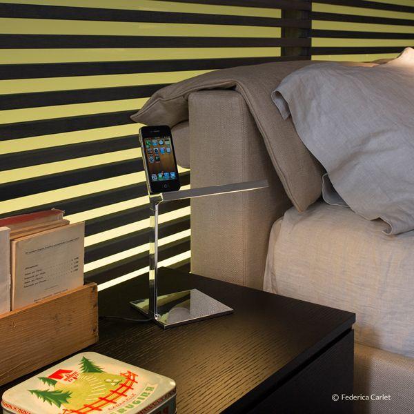D'E-Light table lamp by Flos. Get it at LightForm.ca