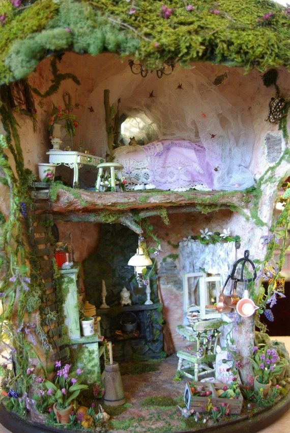 Enchanted Fairy Houses