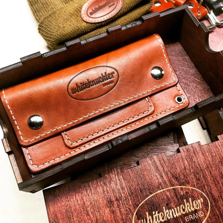 All of our leather goods are made with small batch production methods using traditional methods right here in the USA! #whiteknucklerbrand