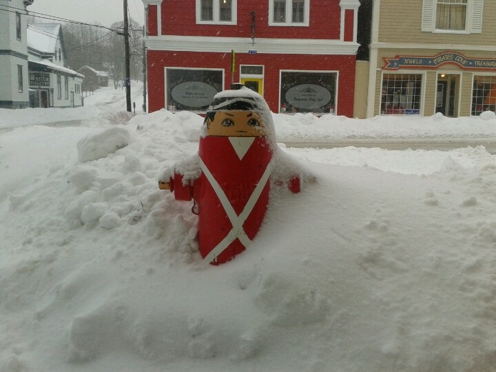 Winter in Liverpool, NS