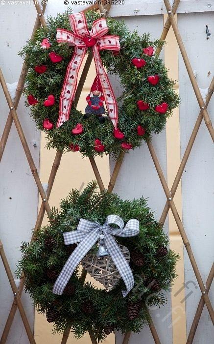 Seppeleet - seppeleet kranssit ovikranssi oviseppele seppele kranssi havukranssi havukranssit joulukranssi joulukranssit joulumarkkinat markkinat tuotteet joulukauppa käsityöt käsityötuotteet
