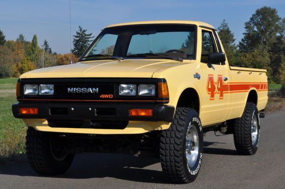 Nissan Datsun X Pickup Off Road Action X together with Isuzu Diesel Pickup Custom Flatbed Nissian Datsun Toyota additionally A Cea B B Bb C together with E Efae F Beb D B Ded D Nissan X Nissan Trucks moreover Reduced Datsun Nissan X King Cab. on 1983 datsun 4x4 720 pickup