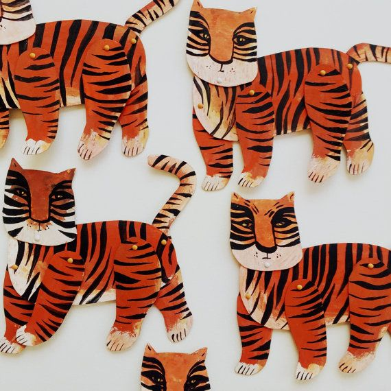 Mini Tiger  / Hinged Beasts Series