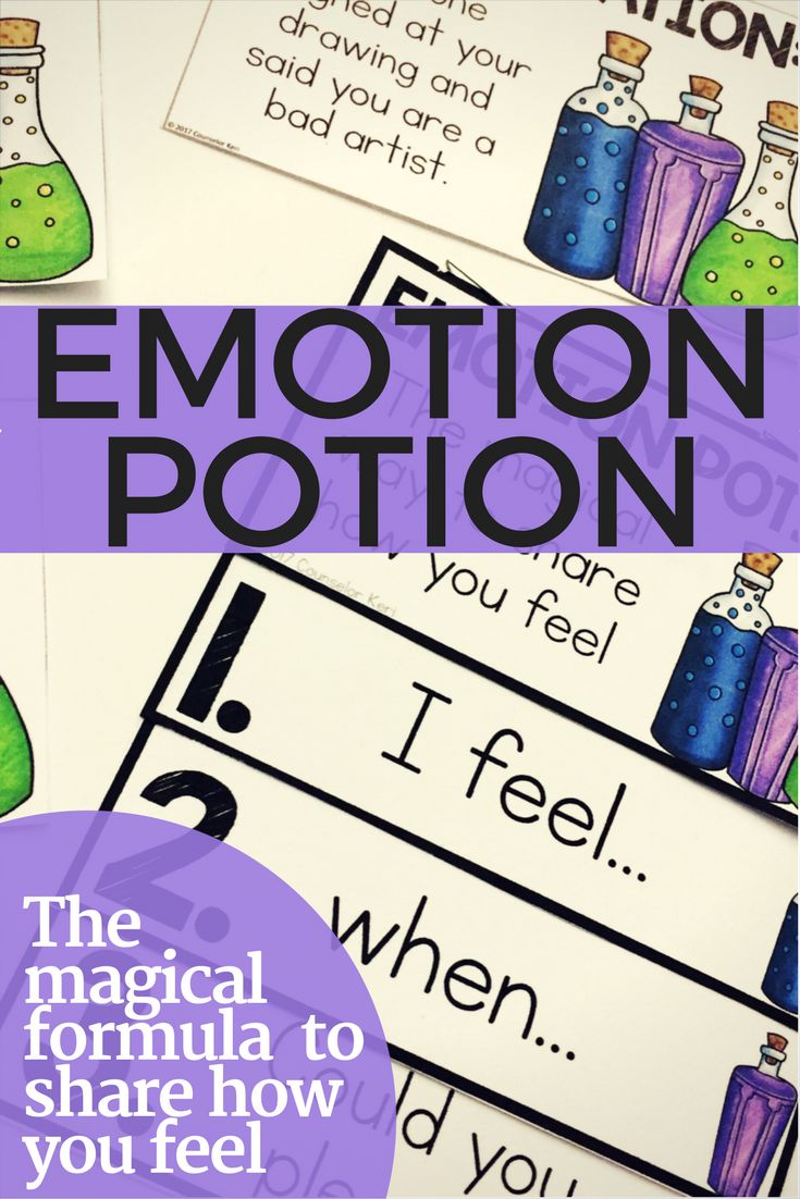 In this school counseling classroom guidance lesson, students learn the magic formula for expressing emotions! Practice making I-feel statements, describing the scenario, and asking for what you need. Play s movement-based game and create a flip book for student reference. This lesson is the perfect feelings focused activity for elementary school students
