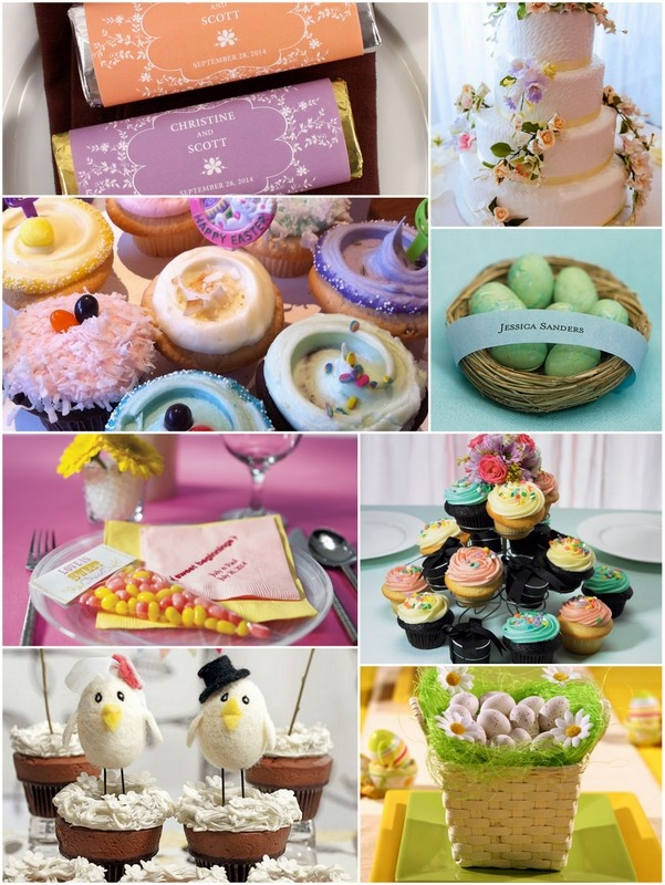 Fun And Unique Wedding Reception Ideas For Easter Themed Weddings Great Favor Cake Toppers Decorations Every Aspect Of Your