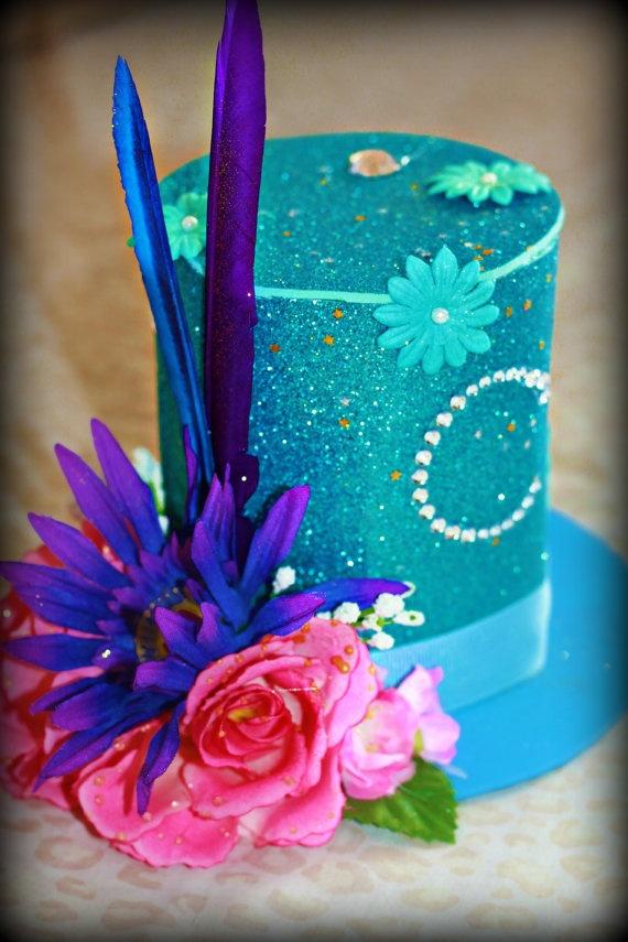 Alice in Wonderland Party Hats birthday hat by Sealedmemoriesdecor, $15.00