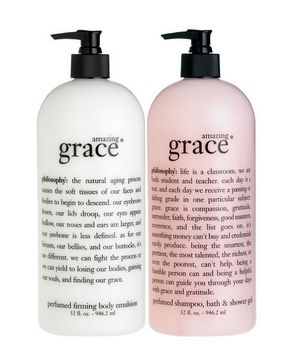 Philosophy Grace body wash, shampoo, and lotion - great products!