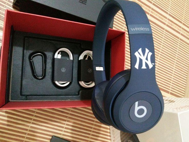 New York Yankees Beats Solo2 MLB Edition Wireless Headphones Now £169.95, Save £80