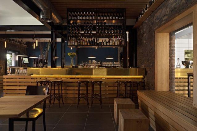 Restaurant design and pallets on pinterest