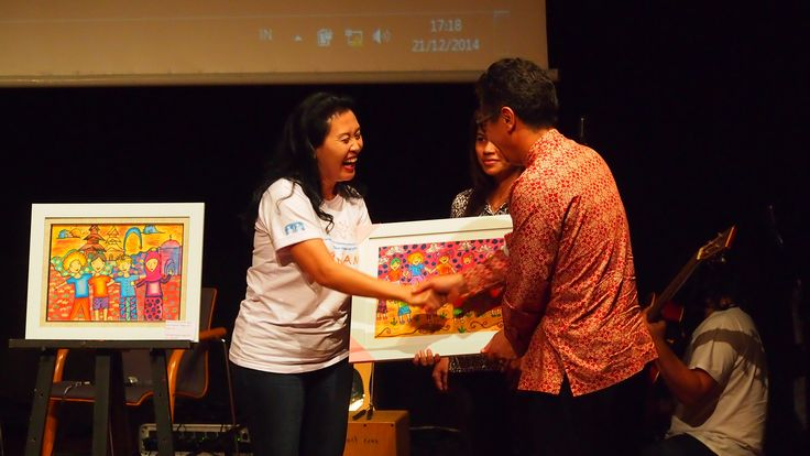 Lelang lukisan untuk Aceh