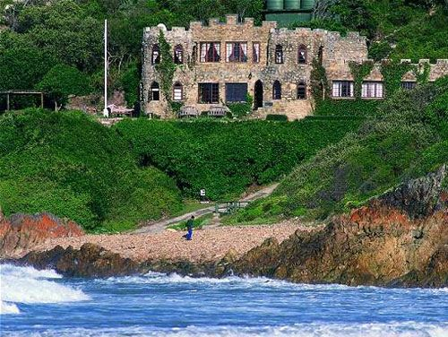 Lindsay Castle in Knysna, South Africa...GORGE!  Castle Vacations | Food + Travel | PureWow National