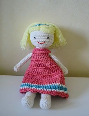 crochet doll with free pattern