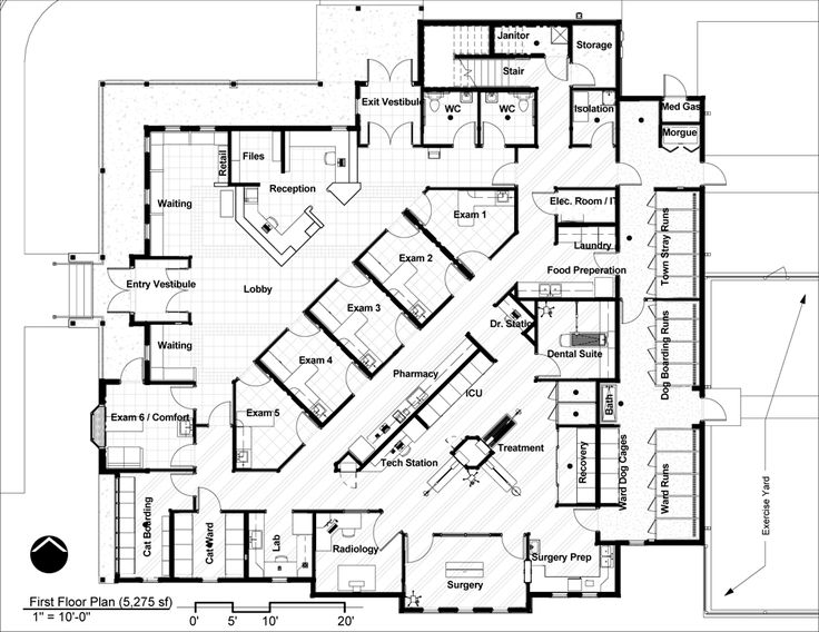 33 Best Floor Plans: Veterinary Hospital Design Images On