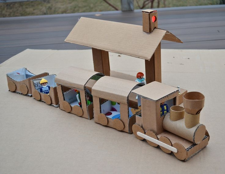 This woman makes amazing things out of cardboard...