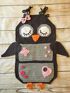 Ravelry: Owl Treasure Organiser pattern by Tatsiana Matsiuk