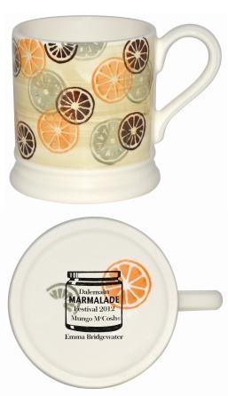 Dalemain Marmalade festival mug for 2012 by Emma Bridgewater