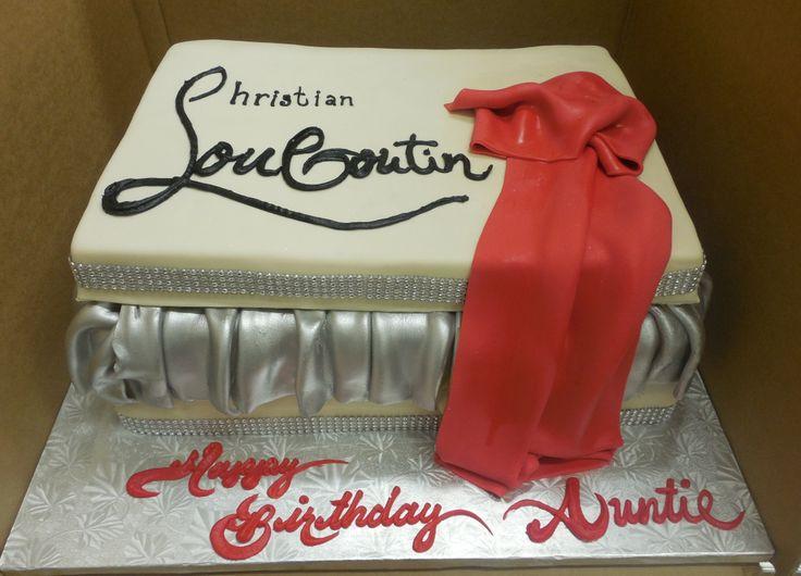 Calumet Bakery Louboutin Shoe Box Cake