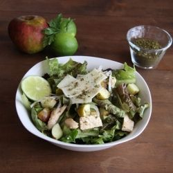 Fall Za'atar Salad HealthyAperture.com