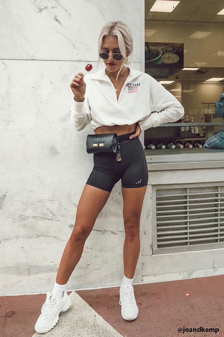 Bike Shorts Outfit Tips   – The Closet