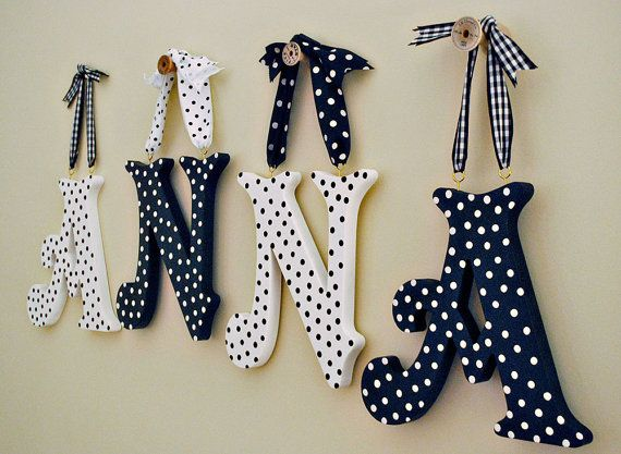 25+ unique hanging wooden letters ideas on pinterest | painted