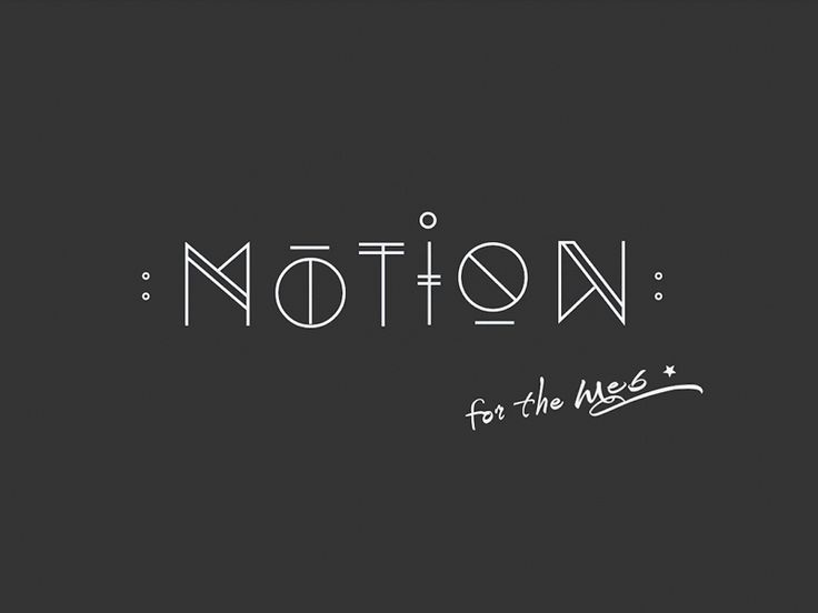 ·● MOTION for the web ●·
