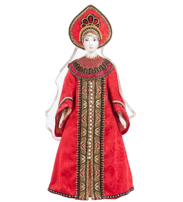 """RK-545 Кукла """"Царевна"""" / Коллекционные куклы / Куклы / Каталог / R-Gifts – интернет магазин подарков и сувениров.  #doll #porcelainskin #porcelaine #russiandoll #russiandolls #gift #giftidea #handmade #кукла #куклаинтерьерная #кукларучнойработы #подарок #фарфор #фарфороваякукла"""