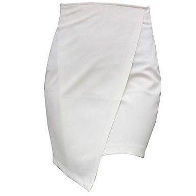 De las mujeres falda de hendidura Falda Corta Paquete Faldas – USD $ 15.39