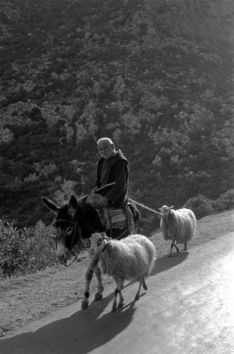 by Erich Lessing; GREECE. Crete. 1955.
